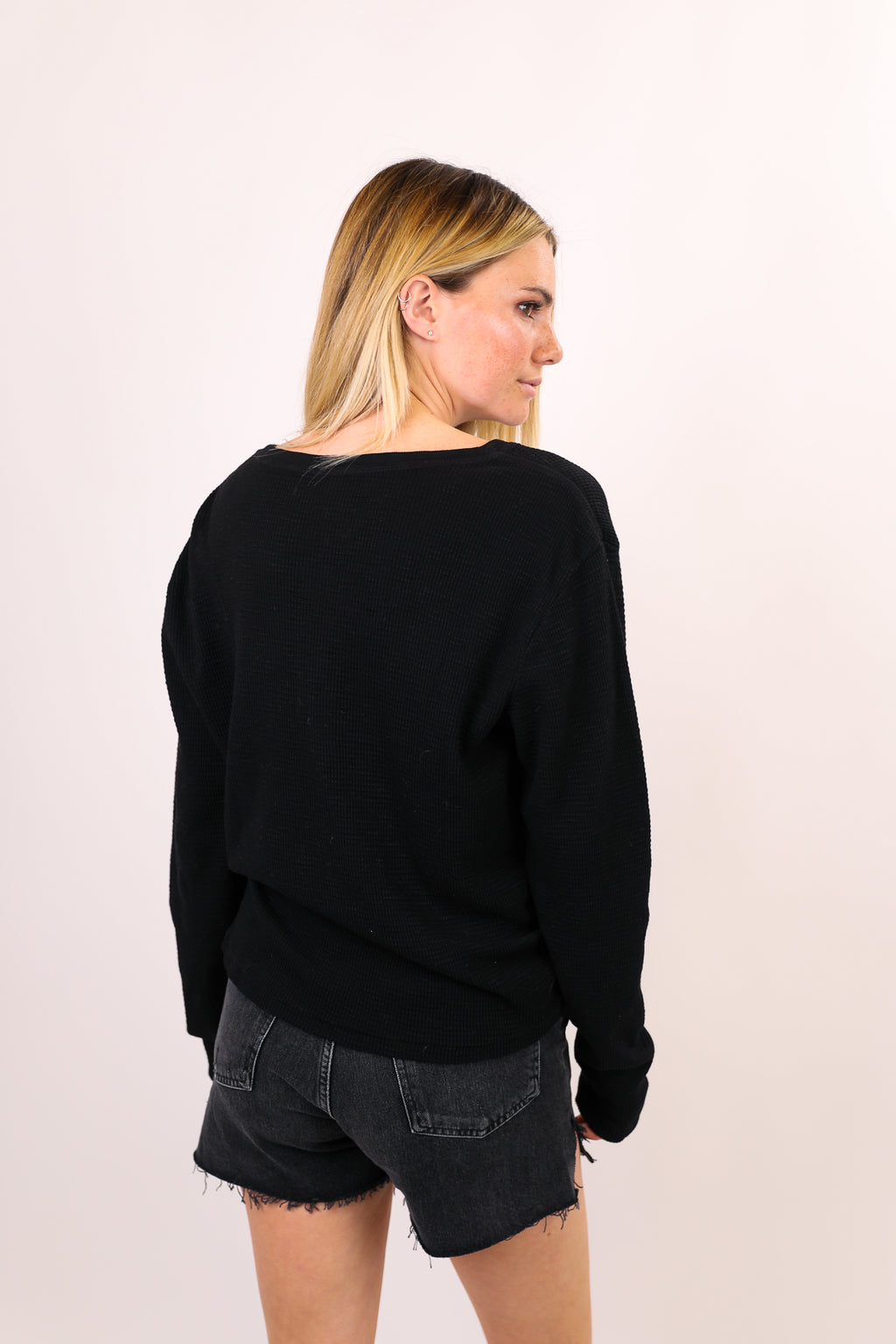 Henley Long Sleeve Tee