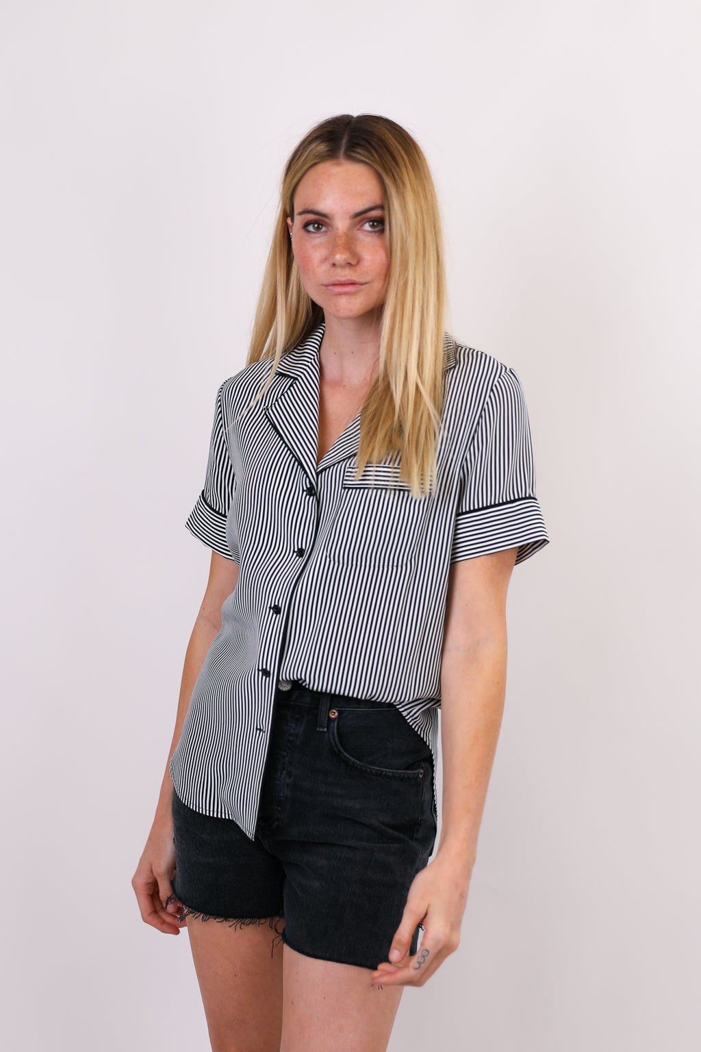 Luca Short Sleeve PJ Top