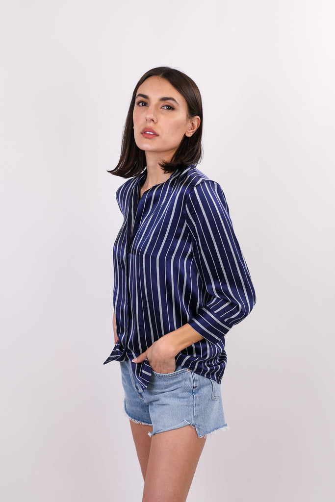 Aoki 3/4 Length Sleeve Blouse