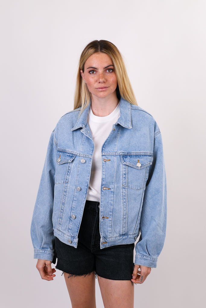Charli Oversized Denim Jacket