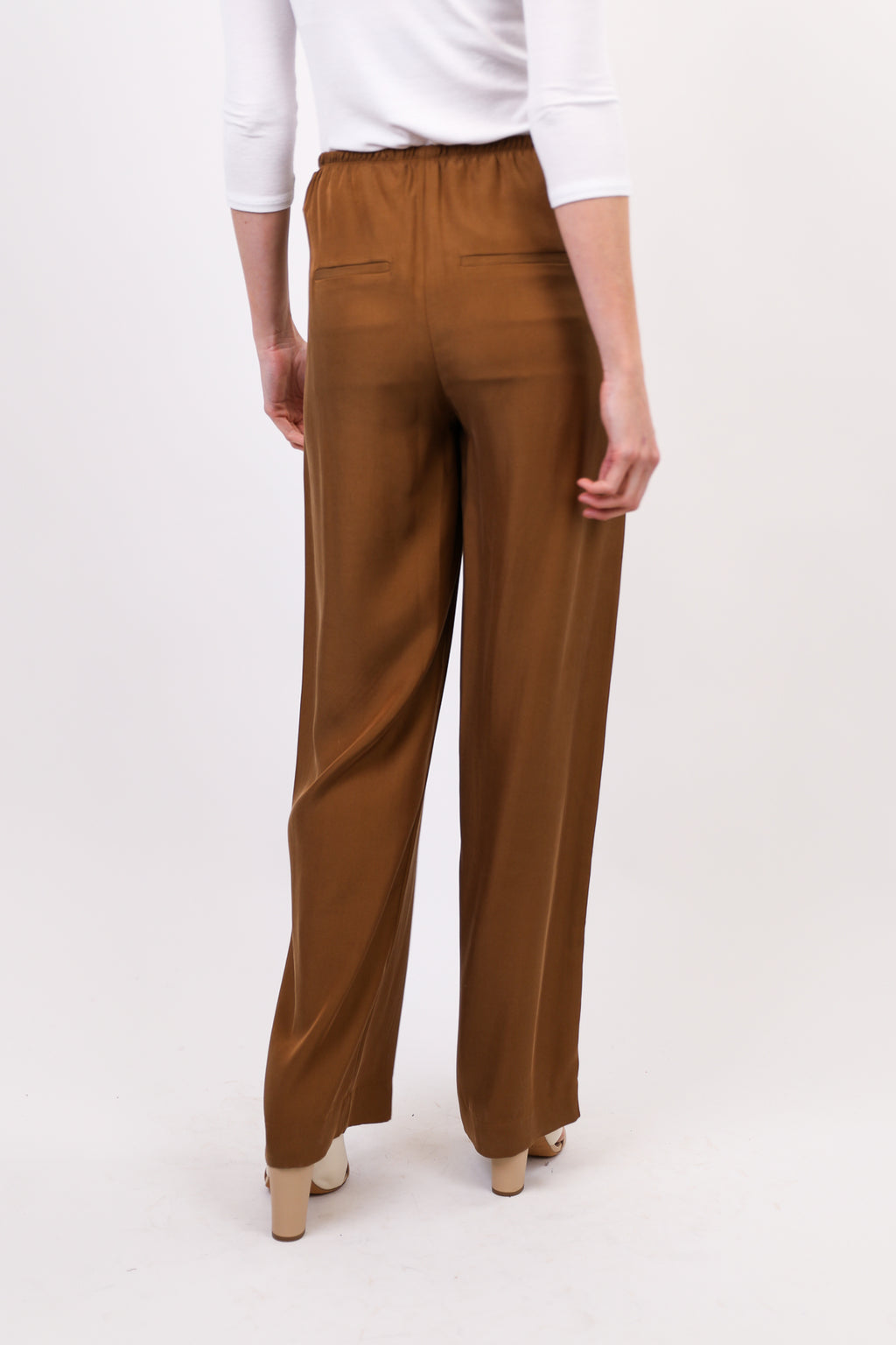 Silky Pull On Pant