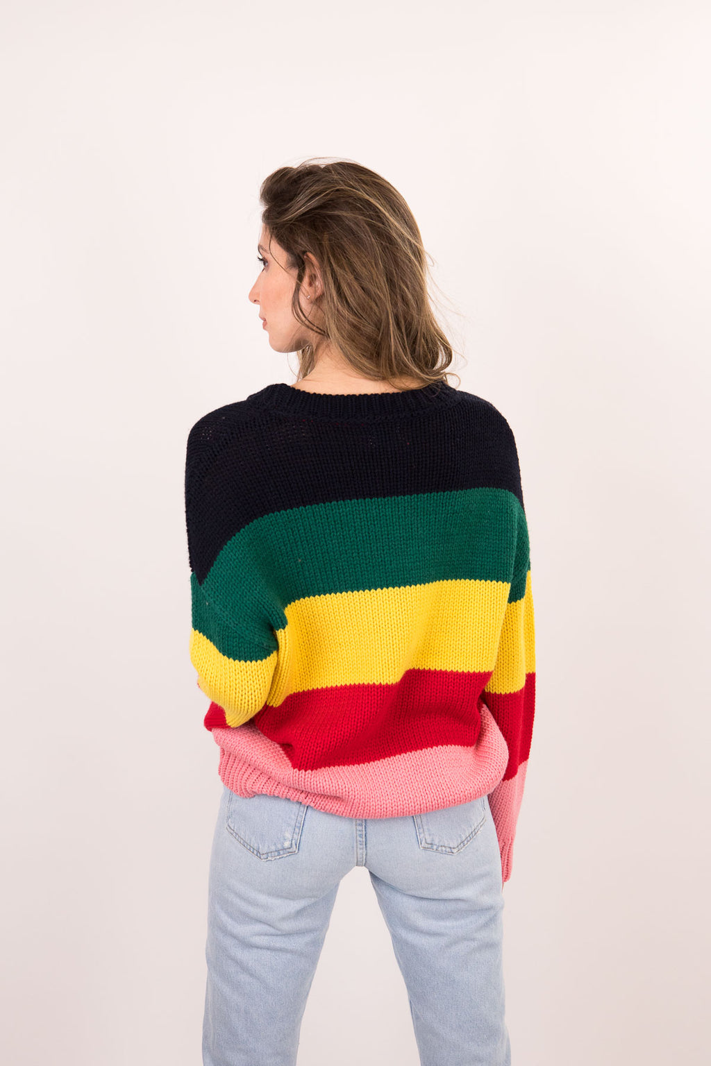 Slouchy Multicolor Sweater
