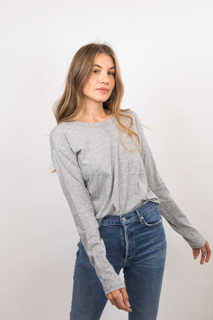 The Cropped Long Sleeve