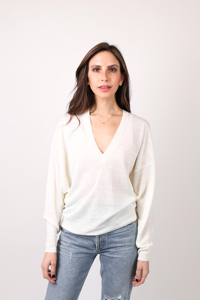 Drive V-Neck Sweater