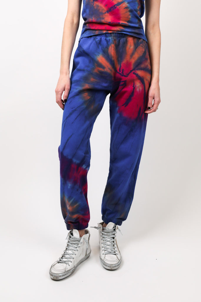 Sunset Marble Tie Dye Sweatpant