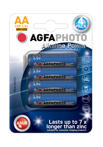 ΜΠΑΤΑΡΙΑ AGFA PHOTO HQ ALKALINE AA ( LR6 ) 4τμχ