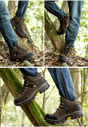 Outdoor Mountain, Desert Climbing Ankle Hiking Boots.