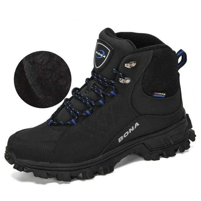 Ankle Hiking Boots, Classic Outdoor Trekking Footwear.