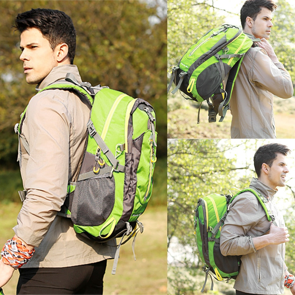 Waterproof 40L Outdoor Backpack/Camping, Hiking.