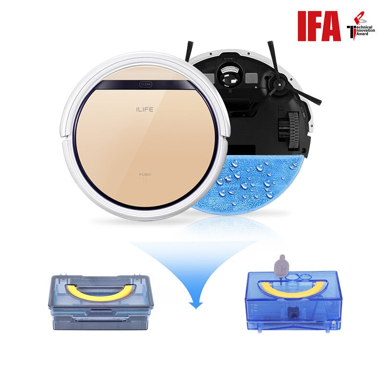 V5s Pro Robot Vacuum Cleaner, Wet / Dry automatic.