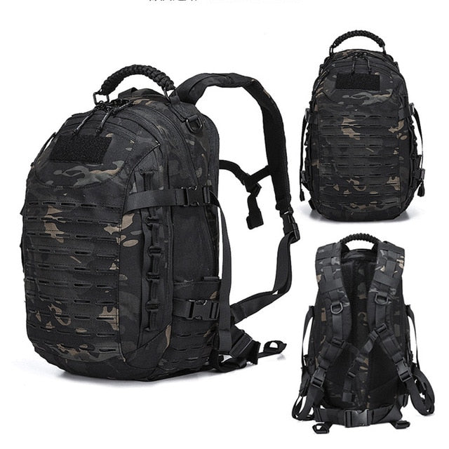 25L Tactical Military Style Hiking, Camping Backpack.