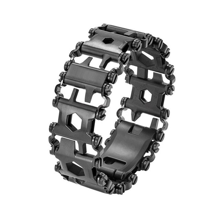 Multi-function Survival Bracelet for Outdoor Hiking, Camping And More.