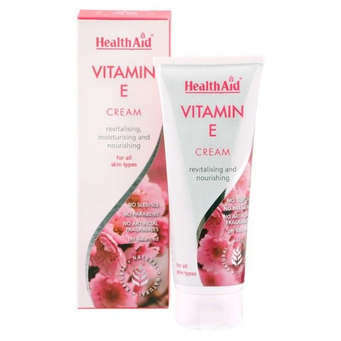 Vitamin E cream – krema z dodanim vitaminom E
