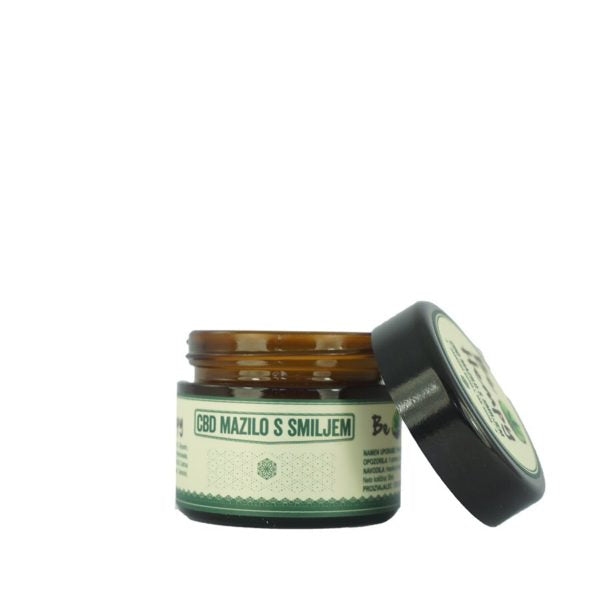Konopljino mazilo s smiljem Canna Immortelle 50ml 1% CBD