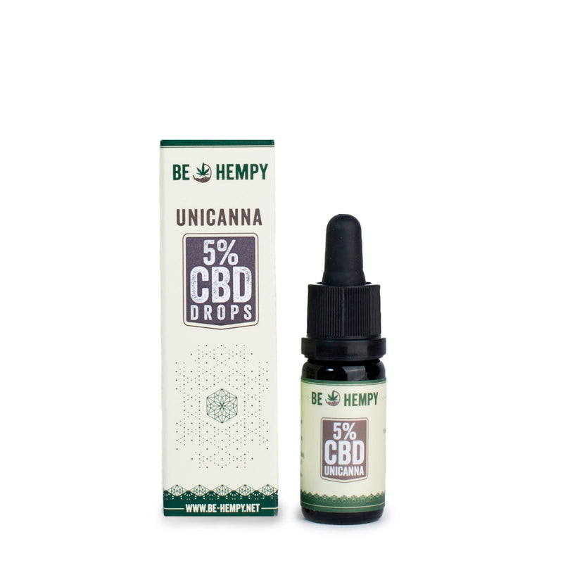 5% CBD kapljice :: UniCanna 10ml