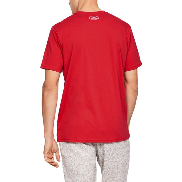 UA Kratka majica BRANDED BIG LOGO SS-RED