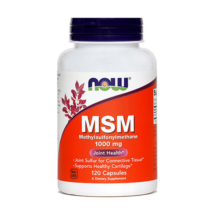 MSM kapsule 1000 mg, NOW