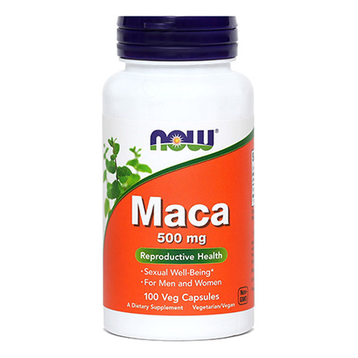 Maca kapsule 500 mg NOW (100 kapsul)
