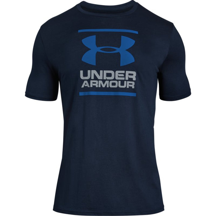 Under Armor Men's GL Foundation Short Sleeve T-Shirt - Blue