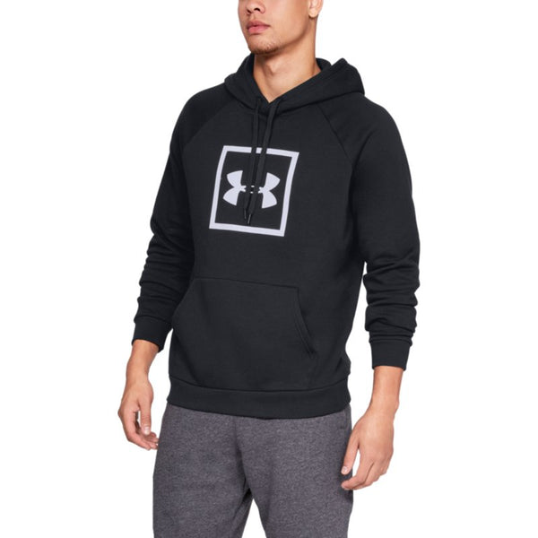 Under Armor Rival Fleece Logo - Black