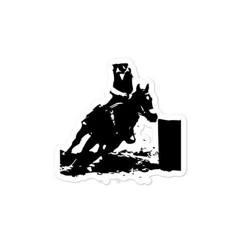 Barrel Racer Sticker