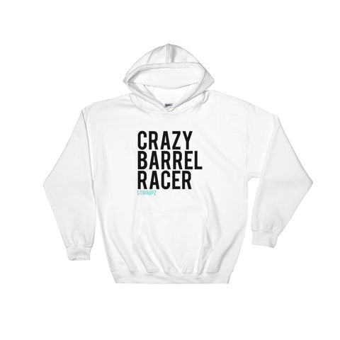 Stirrupz Crazy Barrel Racer Hooded Sweatshirt