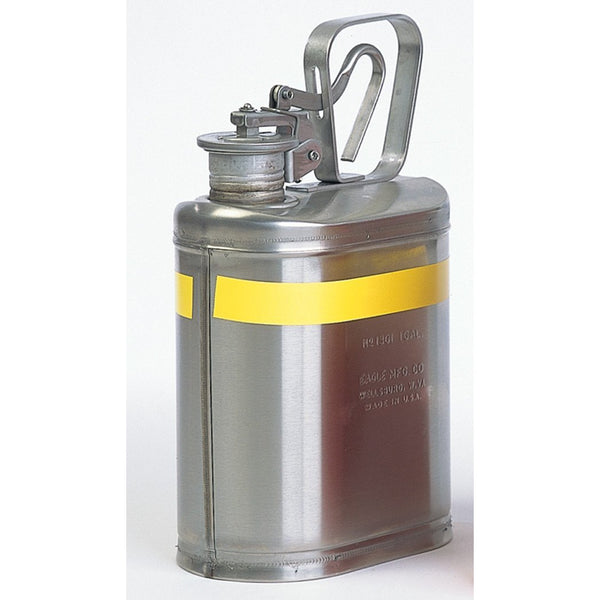 Lab Cans- 1 Gal. Stainless Steel - Safety Cans