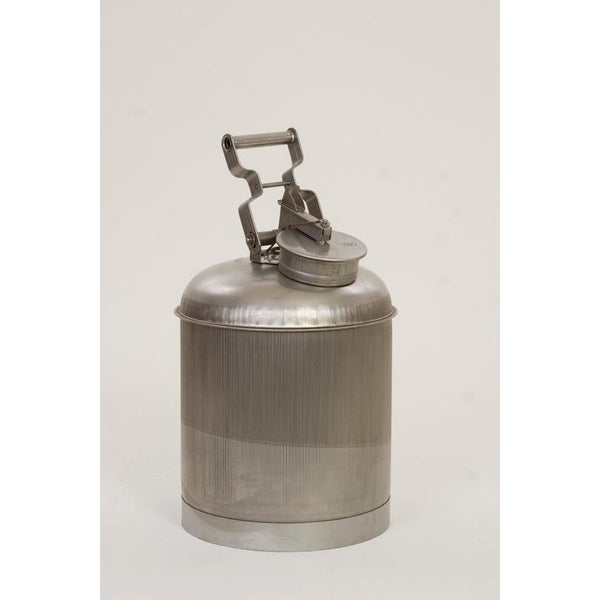 Disposal Cans - 5 Gal. Stainless Steel - Safety Cans