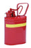 Lab Cans - 1 Gal. Metal - Red w/ Pouring Lip - Safety Cans