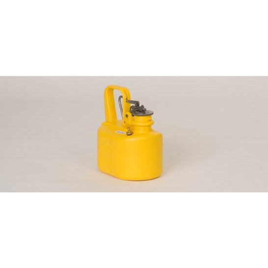 Lab Cans- 1/2 Gal. Polyethylene - Yellow - Safety Cans