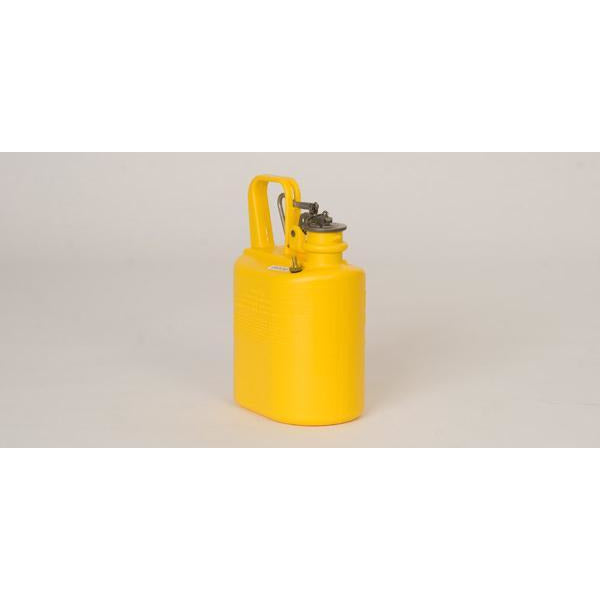 Lab Cans - 1 Gal. Polyethylene - Yellow - Safety Cans