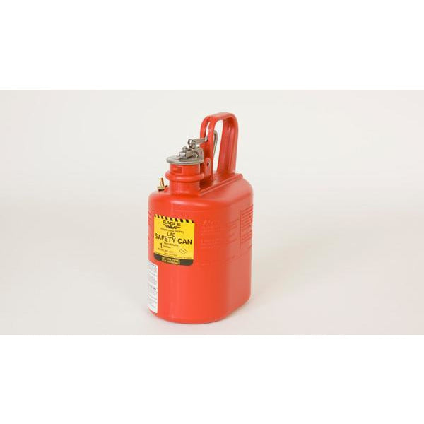 Lab Cans - 1 Gal. Polyethylene - Red - Safety Cans