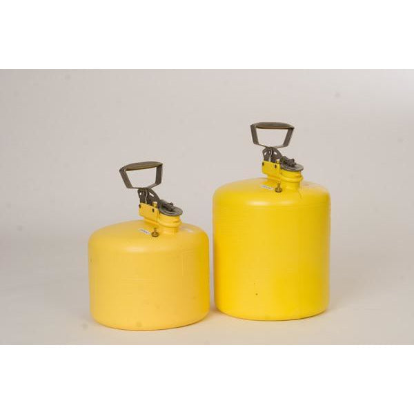 Type I Safety Cans - 3 Gal. Polyethylene - Yellow - Safety Cans