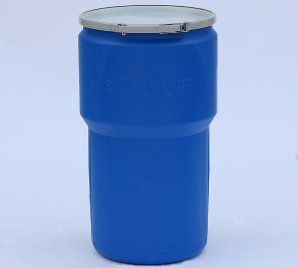(1 Pallet - qty: 54) 14 Gal. (Blue) Lab Pack, Metal Lever-Lock Ring, Plain Lid, 1610MB