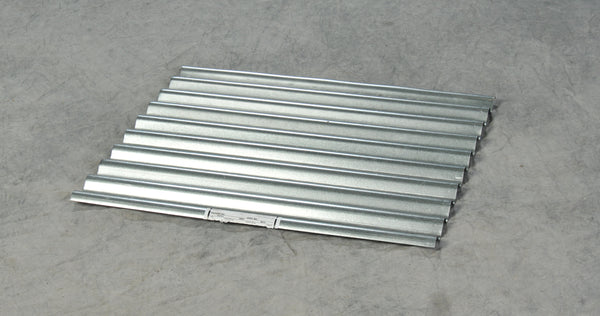 One Drum Steel Corrugated Grating Blue Model # 1611STG - Steel Spill Platforms & Pallets