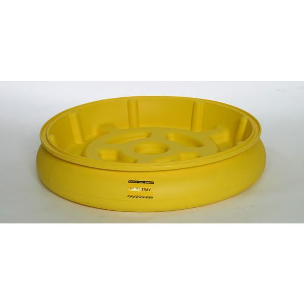 Drum Tray - Yellow - Mobile Containment