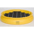 Drum Tray With Grating - Yellow w/ Black Grate - Containment Basin