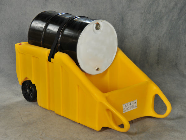 Drum Containment Dolly Yellow Model # 1617Y - Drum Products & Drip Pans