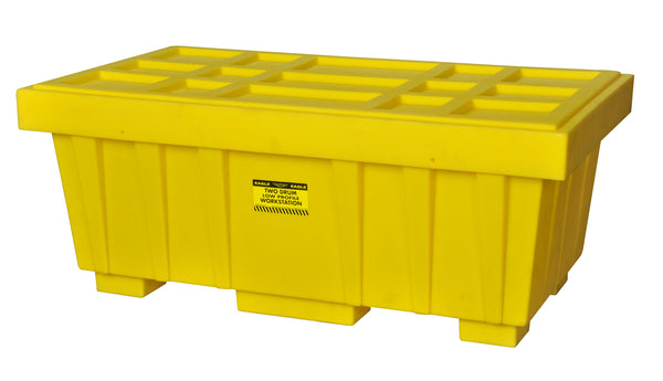 110 Gal. Spill Kit Box w/lid Yellow Yellow Model # 1624K - Spill Kit Boxes