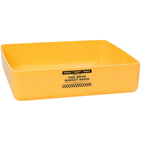1 Drum Budget Basin - Yellow - Drum Accessories