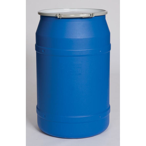 (1 Pallet - qty: 8) 55 Gal. (Blue) Lab Pack, Metal Lever-Lock, Plain Lid, 1656MB
