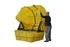 IBC Containment Unit w/ Soft Top Cover & Poly Platform Yellow Model # 1683STC - IBC Products