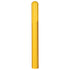 "Material Handling Post Sleeves Ribbed 6"" Bumper Post Sleeve-72"" Long Yellow"