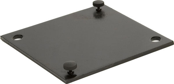 Material Handling Protective Products Poly Bollard Base Steel Weighed Base For 1731, 1733 & 1734 Black