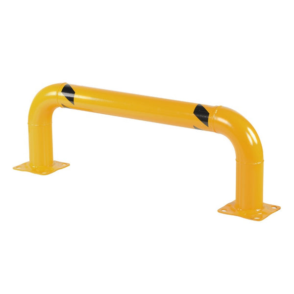 "Material Handling Machine Guards 4"" 16""H X 48""W Rack Guard Yellow"