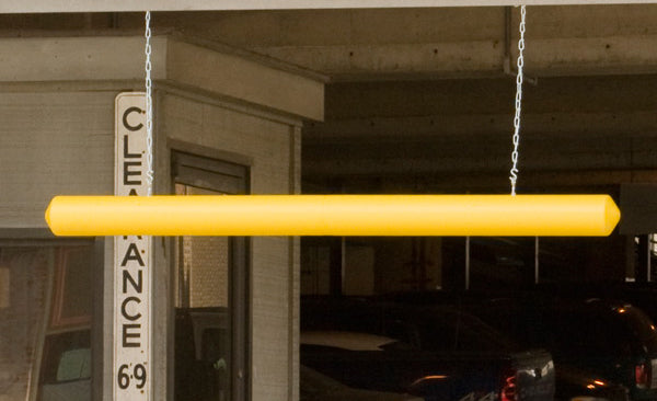 "Material Handling Protective Products Clearance Bars 7"" Clearance Bar Yellow"