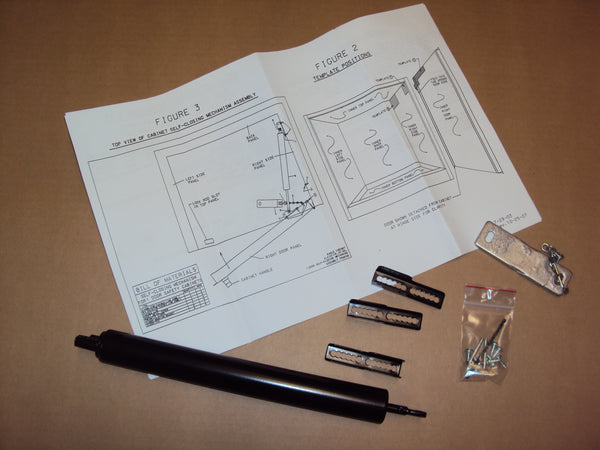 Self-Closing Adapter Kit for 4, 12, 16 and 24 Gal 1-Door Models