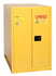 Safety Storage Cabinets Drum Storage 2-Vertical Drums 55 Gal. (Yellow) Two Door Self-Closing Horizontal Drum