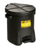 SAFETY OILY WASTE CANS OILY WASTE CANS Polyethylene - Black w/Foot Lever 14 gal Black