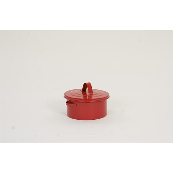 Bench Cans - 2 Qt. Metal - Red Bench Can - Safety Cans